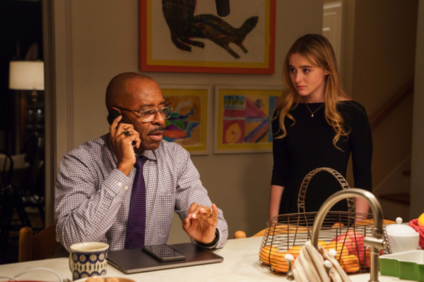 Courtney B. Vance and Kathryn Newton in BEN IS BACK Photo credit: Mark Schafer Courtesy of LD Ent./Roadside Attractions