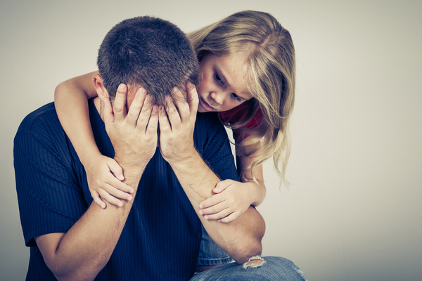 Should you hide negative emotions from children?