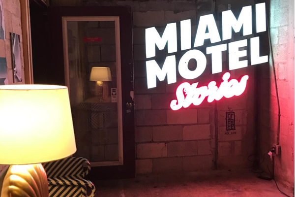 Traveling through time in unconventional spaces with Miami Motel Stories: MiMo