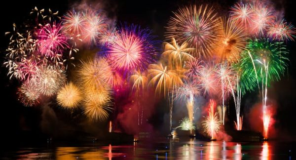 Red, white but rarely blue - the science of fireworks colors, explained