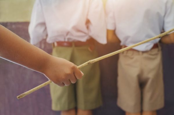 School spankings are banned just about everywhere around the world except in US