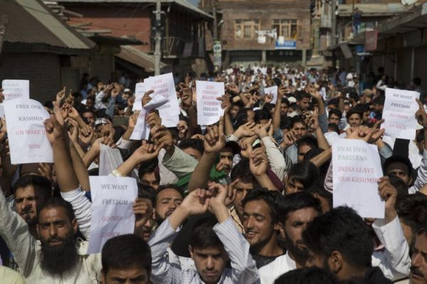 What's behind the protests in Kashmir?