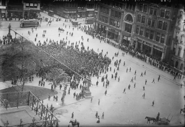 How New York's Union Square helped shape free speech in the US